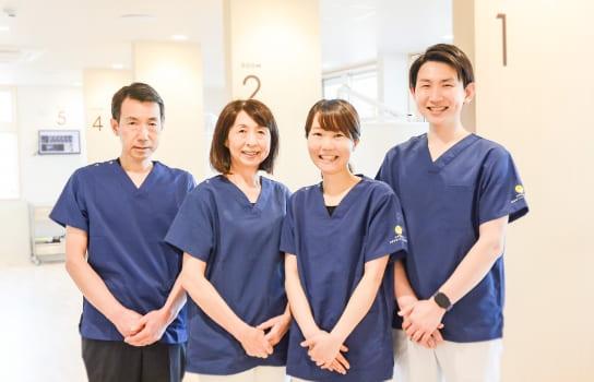 専門性を持った4人の歯科医師